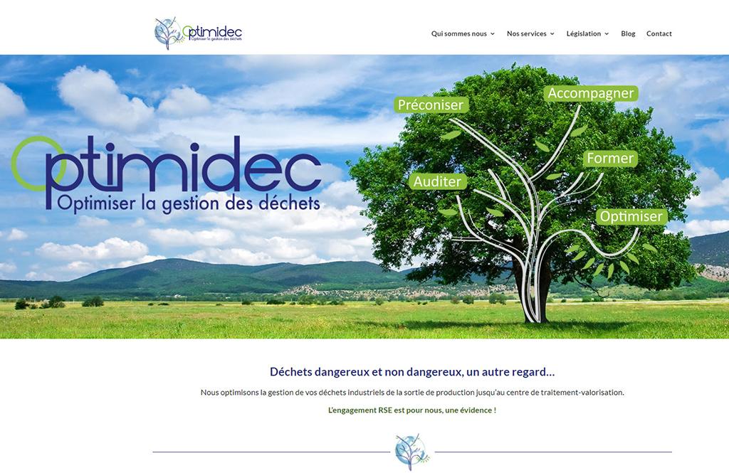 Rédaction Web - SEO pour Optimidec